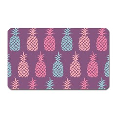 Pineapple Wallpaper Pattern 1462307008mhe Magnet (rectangular)