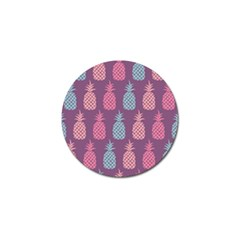 Pineapple Wallpaper Pattern 1462307008mhe Golf Ball Marker (10 Pack) by Sobalvarro