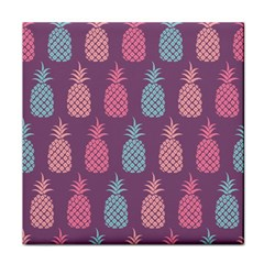 Pineapple Wallpaper Pattern 1462307008mhe Face Towel