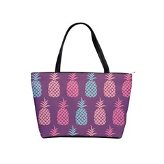 Pineapple Wallpaper Pattern 1462307008mhe Classic Shoulder Handbag