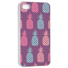 Pineapple Wallpaper Pattern 1462307008mhe Iphone 4/4s Seamless Case (white)