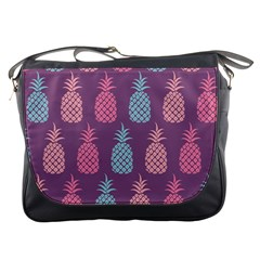 Pineapple Wallpaper Pattern 1462307008mhe Messenger Bag