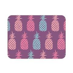 Pineapple Wallpaper Pattern 1462307008mhe Double Sided Flano Blanket (mini)