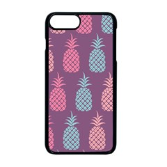 Pineapple Wallpaper Pattern 1462307008mhe Iphone 8 Plus Seamless Case (black)