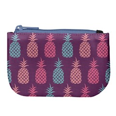 Pineapple Wallpaper Pattern 1462307008mhe Large Coin Purse