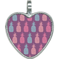 Pineapple Wallpaper Pattern 1462307008mhe Heart Necklace