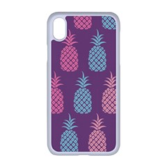 Pineapple Wallpaper Pattern 1462307008mhe Iphone Xr Seamless Case (white)
