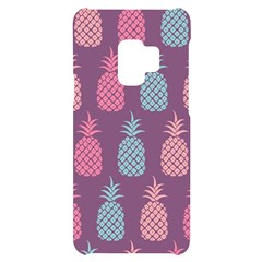 Pineapple Wallpaper Pattern 1462307008mhe Samsung S9 Black Uv Print Case