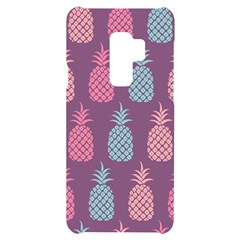 Pineapple Wallpaper Pattern 1462307008mhe Samsung S9 Plus Black Uv Print Case
