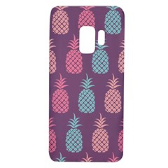 Pineapple Wallpaper Pattern 1462307008mhe Samsung Galaxy S9 Tpu Uv Case