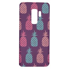 Pineapple Wallpaper Pattern 1462307008mhe Samsung Galaxy S9 Plus Tpu Uv Case