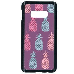 Pineapple Wallpaper Pattern 1462307008mhe Samsung Galaxy S10e Seamless Case (black)