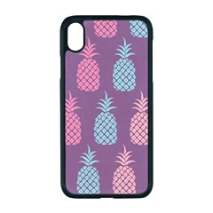 Pineapple Wallpaper Pattern 1462307008mhe Iphone Xr Seamless Case (black)