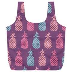 Pineapple Wallpaper Pattern 1462307008mhe Full Print Recycle Bag (xxxl)
