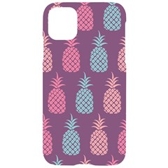 Pineapple Wallpaper Pattern 1462307008mhe Iphone 11 Black Uv Print Case