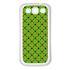 Texture Seamless Christmas Samsung Galaxy S3 Back Case (white)