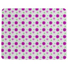 Background Flowers Multicolor Purple Jigsaw Puzzle Photo Stand (rectangular)