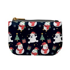 Colourful Funny Christmas Pattern Mini Coin Purse