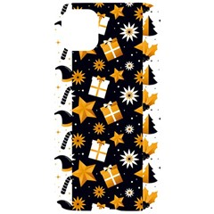 Black Golden Christmas Pattern Collection Iphone 11 Black Uv Print Case