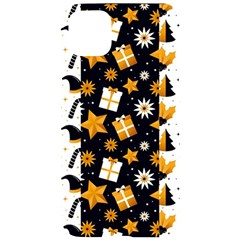 Black Golden Christmas Pattern Collection Iphone 11 Pro Max Black Uv Print Case