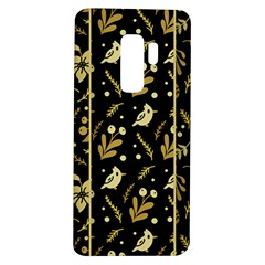 Golden Christmas Pattern Collection Samsung Galaxy S9 Plus Tpu Uv Case