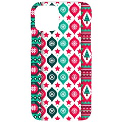 Flat Design Christmas Pattern Collection Iphone 11 Pro Black Uv Print Case