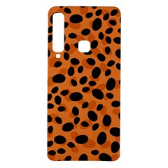 Orange Cheetah Animal Print Samsung Galaxy A9 Tpu Uv Case