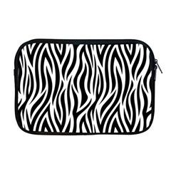 Thin Zebra Animal Print Apple Macbook Pro 17  Zipper Case by mccallacoulture