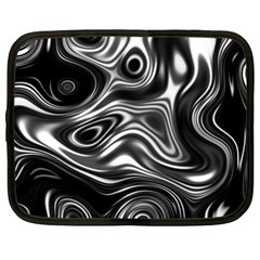 Wave Abstract Lines Netbook Case (xxl)