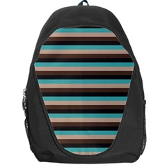 Stripey 1 Backpack Bag by anthromahe