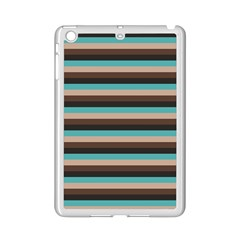 Stripey 1 Ipad Mini 2 Enamel Coated Cases by anthromahe