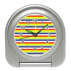 Stripey 2 Travel Alarm Clock by anthromahe