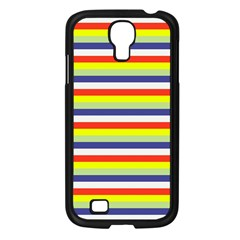 Stripey 2 Samsung Galaxy S4 I9500/ I9505 Case (black) by anthromahe