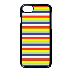 Stripey 2 Iphone 7 Seamless Case (black) by anthromahe