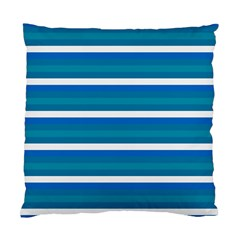 Stripey 3 Standard Cushion Case (one Side) by anthromahe
