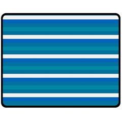 Stripey 3 Double Sided Fleece Blanket (medium)