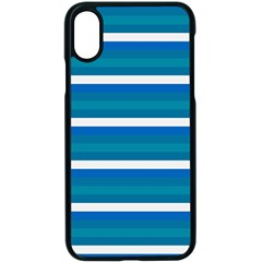 Stripey 3 Iphone X Seamless Case (black) by anthromahe