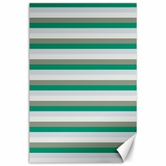 Stripey 4 Canvas 24  X 36  by anthromahe