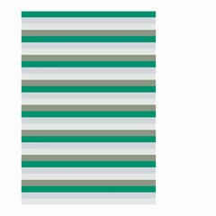 Stripey 4 Small Garden Flag (two Sides) by anthromahe
