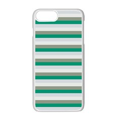 Stripey 4 Iphone 7 Plus Seamless Case (white) by anthromahe