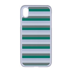Stripey 4 Iphone Xr Seamless Case (white) by anthromahe