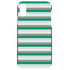 Stripey 4 Iphone Xr Black Uv Print Case by anthromahe