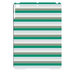 Stripey 4 Apple Ipad Pro 9 7   Black Uv Print Case by anthromahe