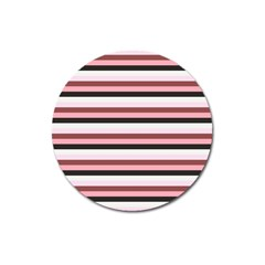 Stripey 5 Magnet 3  (round) by anthromahe
