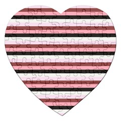 Stripey 5 Jigsaw Puzzle (heart) by anthromahe