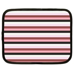 Stripey 5 Netbook Case (large) by anthromahe