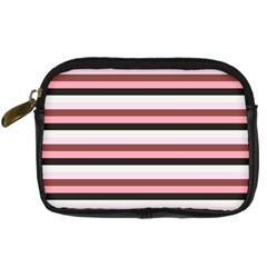 Stripey 5 Digital Camera Leather Case by anthromahe