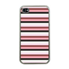 Stripey 5 Iphone 4 Case (clear) by anthromahe
