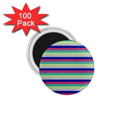 Stripey 6 1 75  Magnets (100 Pack)  by anthromahe