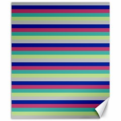 Stripey 6 Canvas 8  X 10  by anthromahe